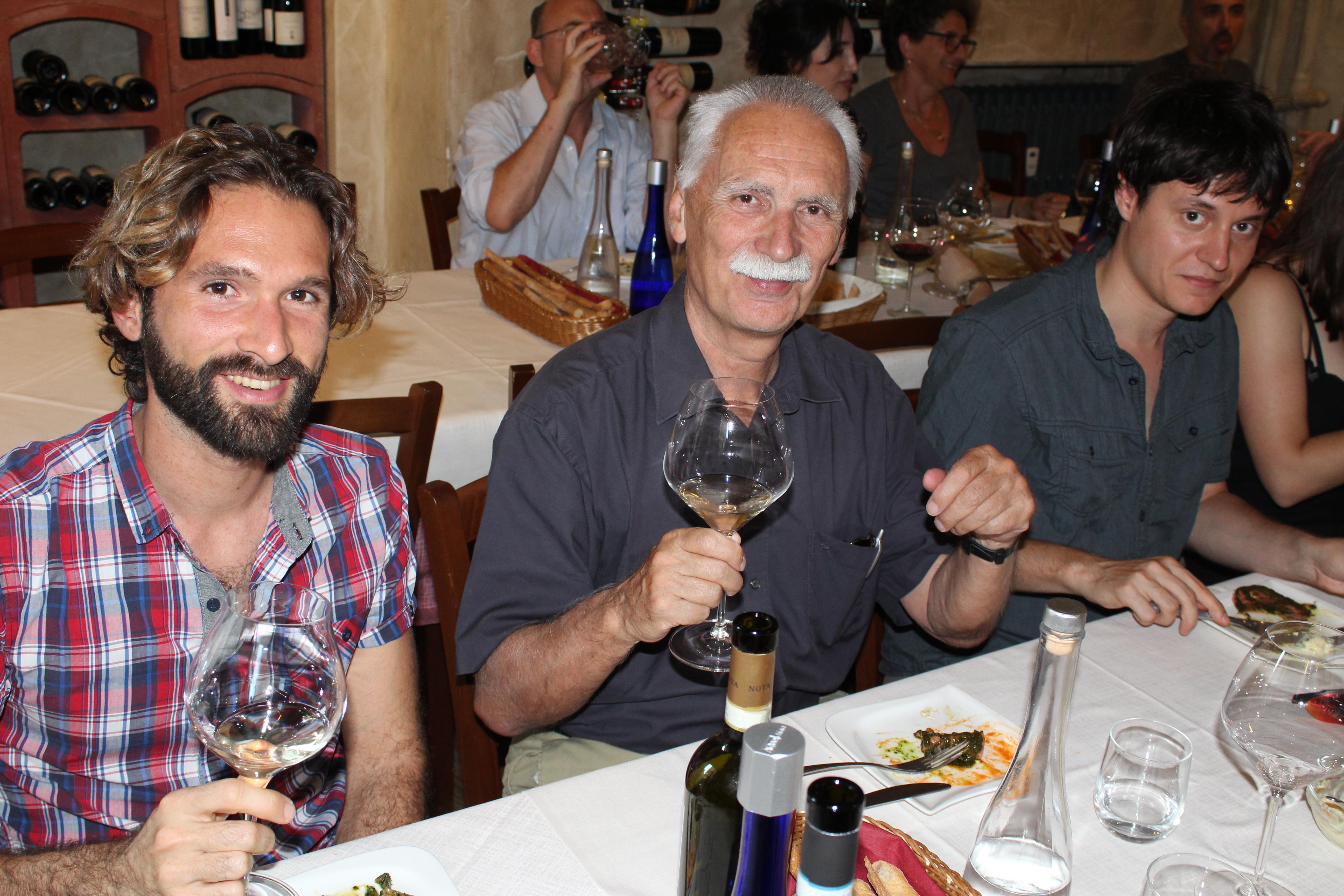 Torino 2018 - post workshop meal
