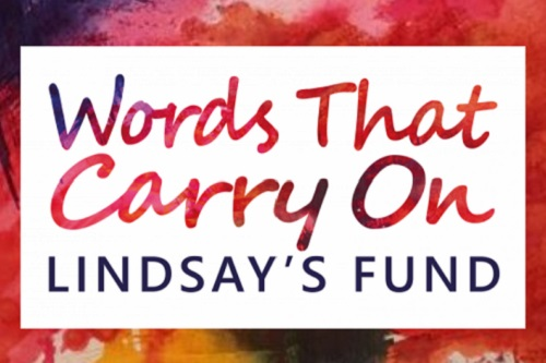 Logo for Words That Carry On: Lindsay's Fund