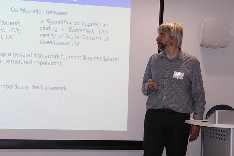 Mark Broom speaking at the London 2017 workshop