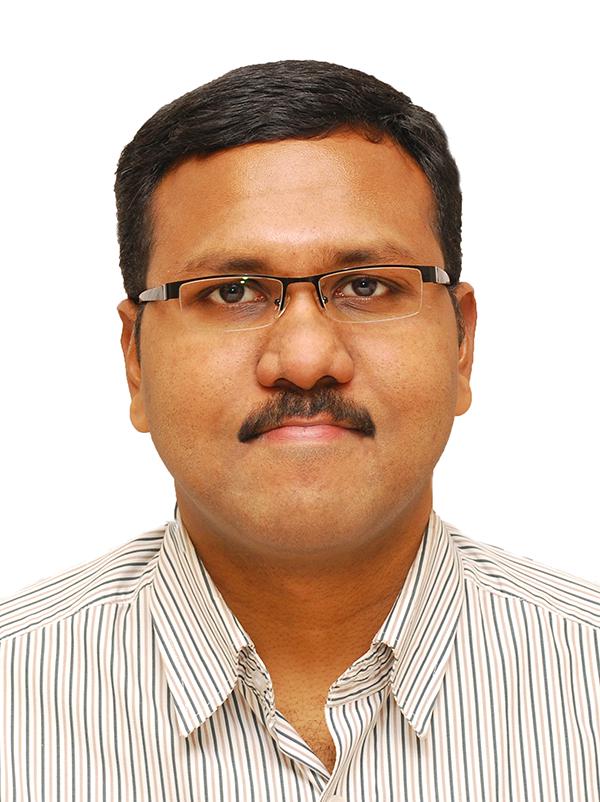 Portrait image of Gopikrishnan Chandrasekharan